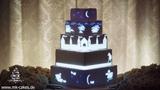 Mapping Cake. Projection Mapped Wedding Cake Проекция на торт