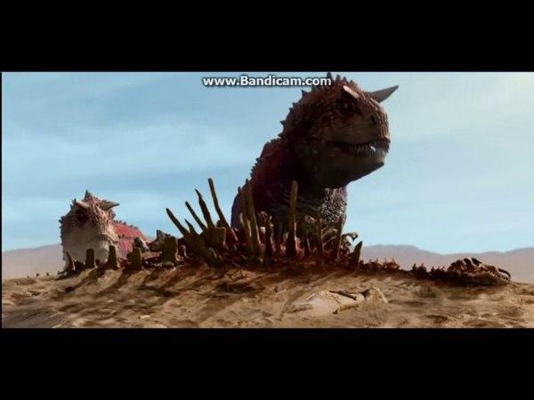 Disney Dinosaur (resound Carnotaur pair appearance)