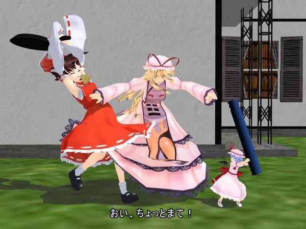 【東方MMD】 Reimu and Remilia: The Truce Hurts 「Tom and Jerry parody」 『Animated by どてらぽっと』