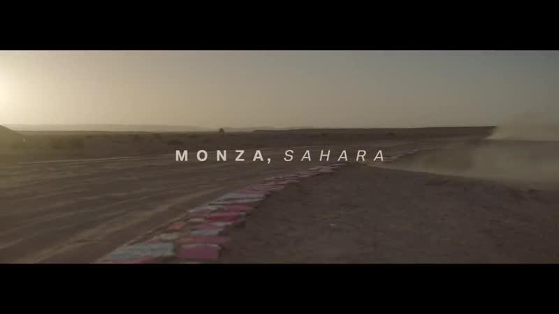 Nuova BMW X5 nel Sahara- il Circuito di Monza ricostruito nel deserto.