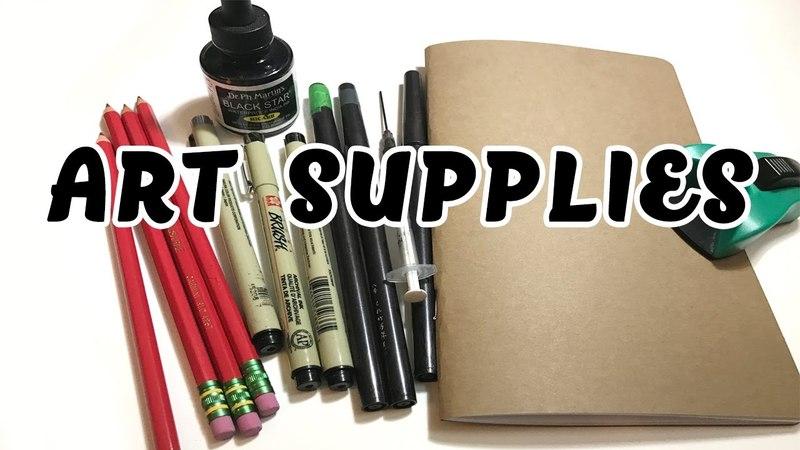 Cheap Supplies Every Artist Needs