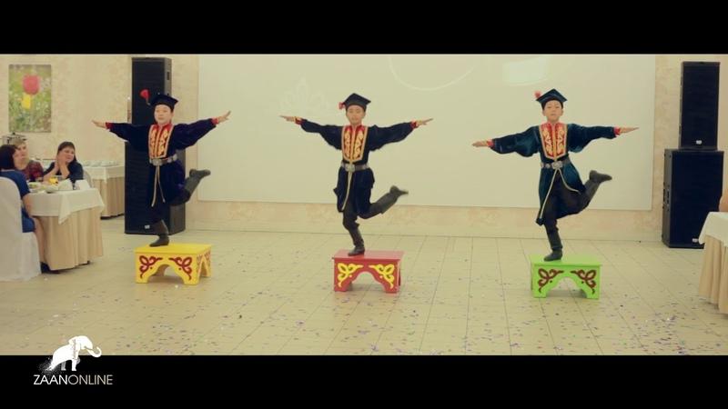 Детский ансамбль Баин Тег - Танец на тумбах