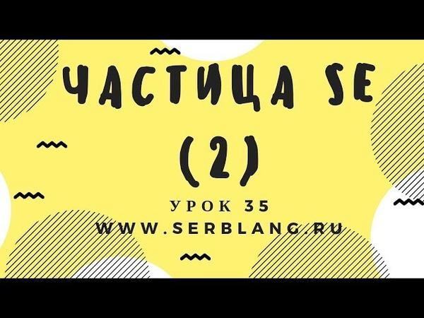 Сербский язык. Урок 35. Прошедшее время - порядок слов