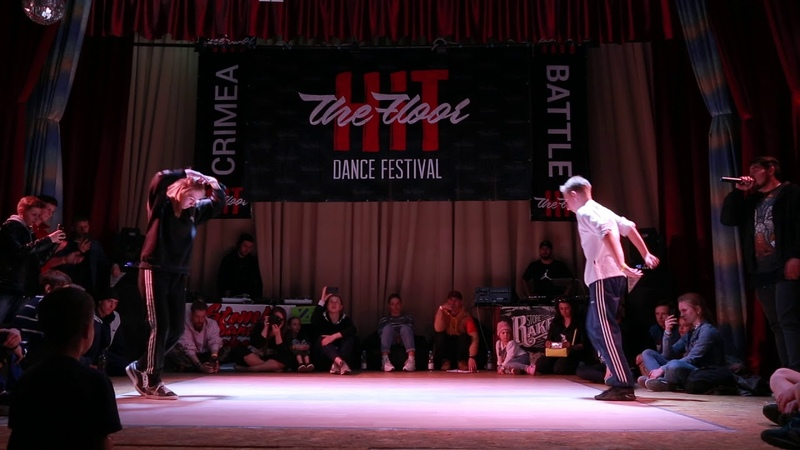 Hit The Floor Battle vol.5 breaking pro 1/4 Болли(win) vs Sky