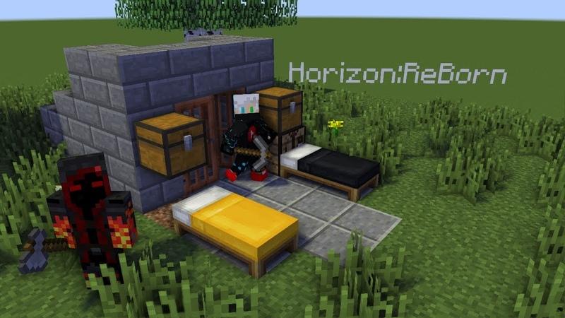 Horizon:ReBorn | Приватный сервер с ванильным выживанием. Серия 1