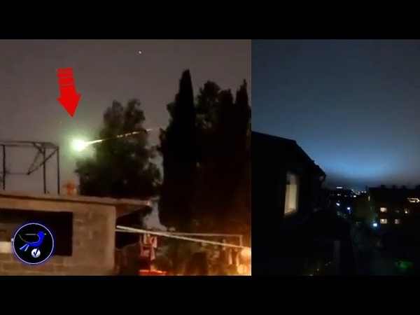 Strange flying object shaped like Meteor over Mexico! Dec 9,2018