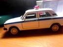 Обзор на игрушечную металлическую машинку LADA 2107 полиция дпс