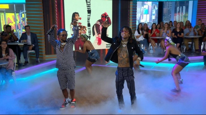 Rae Sremmurd - 'Guatemala' live on 'GMA'