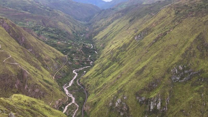 Трек к Nariz del Diablo. Alausí, Ecuador