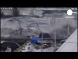 Цунами обрушилось на северо восток Японии euronews, мир.mp4