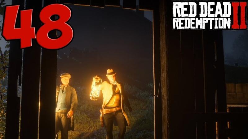 Red Dead Redemption 2. Прохождение. Часть 48 (Зачем было грабить?)