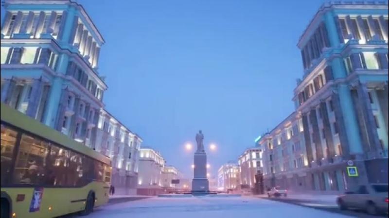 Норильск — город контрастов