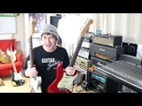Guitar Junkie Episode 3 - Two 1963 Stratocasters play the Blues through a 1965 Bandmaster