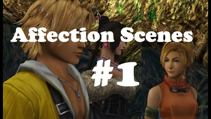 FFX PS4 Tidus Discusses Love Marriage Kids With Lulu Rikku Affection Scenes 1