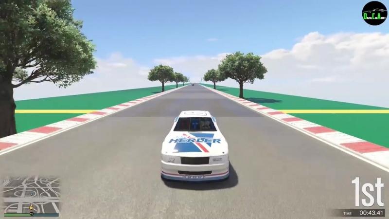 [Digital Car Addict] GTA 5 - Top Speed Drag Race (Declasse Hotring Sabre vs. Pariah, GB200, Massacro, Comet SR, etc.)