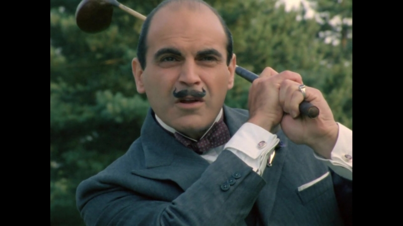 «Пуаро: Убийство в Мьюзе» (1989) - драма, детектив, реж. Эдвард Беннетт, Эндрю Грив, Ренни Рай и др.