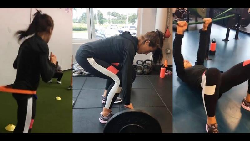 Joanna Jedrzejczyk Workout ATT 05 07 18