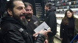 Non Serviam The Official Story Of Rotting Christ' signing session 15022018