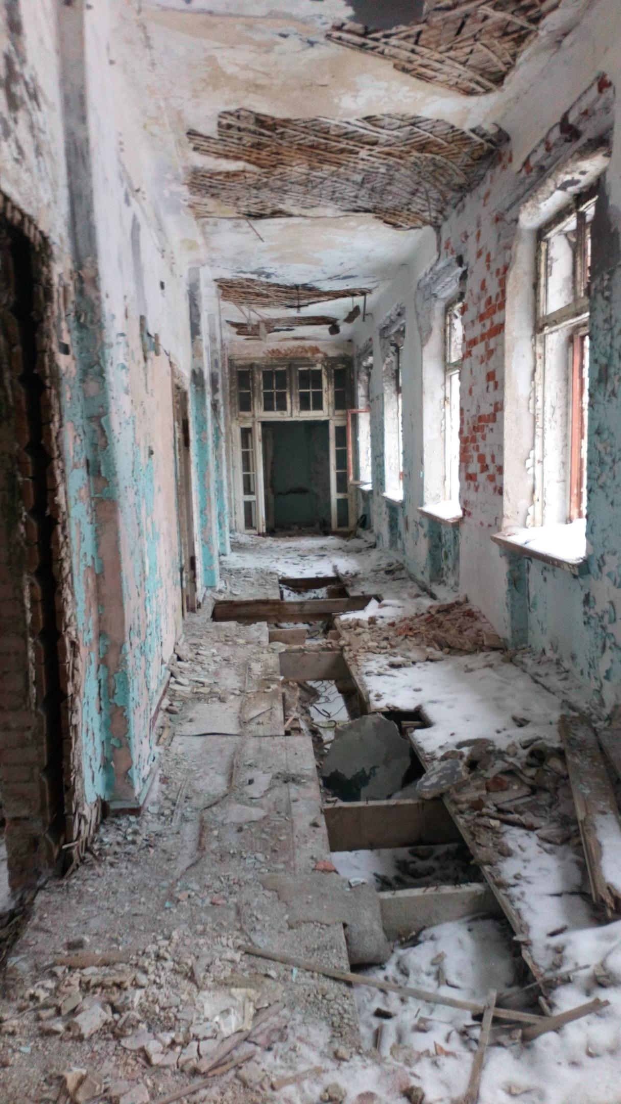 Заброшенная туберкулезная больница г.Медвежьегорск