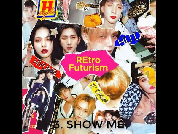 [전곡 듣기 / FULL ALBUM] 트리플 H (TRIPLE H) - RETRO FUTURISM