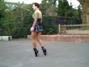 Ballet Heels at the Park