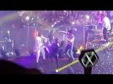 180915 EXO Kai & SHINee Taemin & Wanna One Ha Sungwoon — Enging @ Music Bank in Berlin