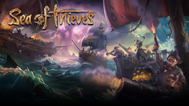 Sea of Thieves одиноуий волк... Или, как потопить корабль!