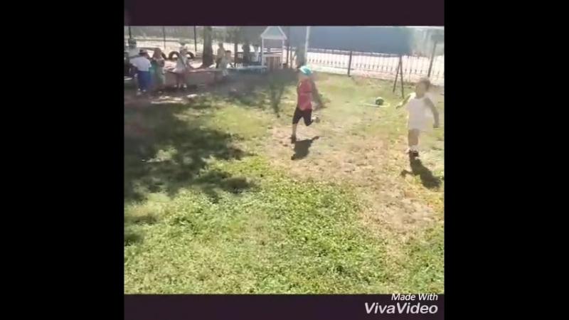 2018 августь балабақша Нұр Ай