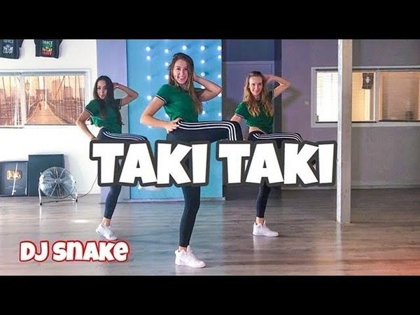 Taki Taki DJ Snake ft Selena Gomez Ozuna Cardi B Easy Dance Video Choreography Takitaki