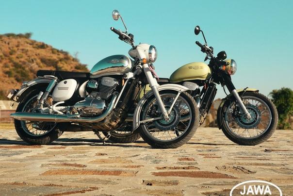 Новые мотоциклы Jawa распроданы до следующей осени