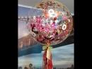 Воздушный шар с помощью режущего плоттера Silhouette