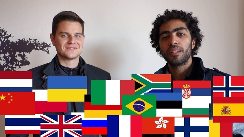 2 Guys Speaking 20 Languages - Polyglot Power