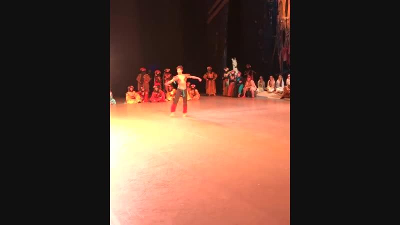 17.10.2018 Mariinsky, Le Corsaire, Ramanbek Beishenaliev, Lankedem Variation (stage video) Корсар, Раманбек Бейшеналиев