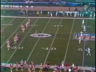 NFL SuperBowl 19 - Miami Dolphins VS San Francisco 49ers