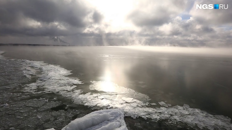 Лед на Обском море