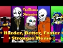 ¦¦ TheNobles Animation ¦¦ Harder-Better-Faster-Stronger Meme ¦¦ Undertale AUs