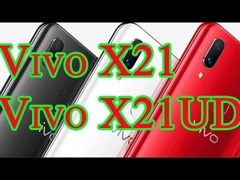 Vivo X21 Vivo X21 UD со встроенным в экран сканером отпечатков
