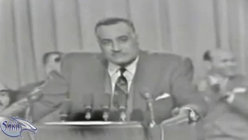 تسجيل نادر جدا للزعيم جمال عبد الناصر و هو ي