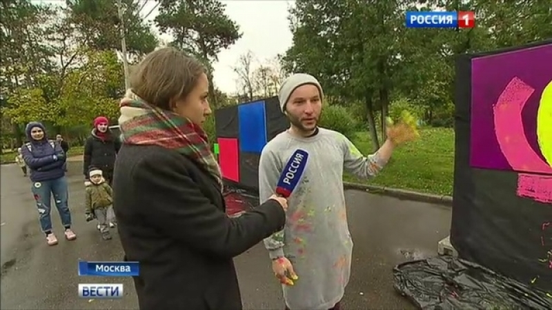 Вести-Москва • В Сокольниках оживают картины