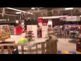 Поставка интерактивного пола в детскую зону, для французской корпорации Auchan Holding - один из крупнейших в мире операторов ро