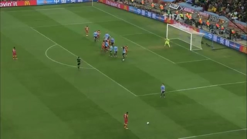 ЧМ-2010. Драматичный четвертьфинал. Уругвай - Гана