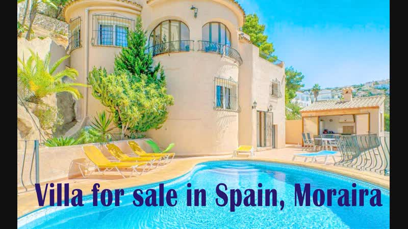 Продажа виллы с видом на море в Испании, Морайра