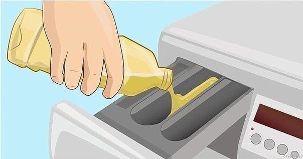 Просто долей уксус в стиральную машинку! Вот он  секрет, за который можно многое отдать