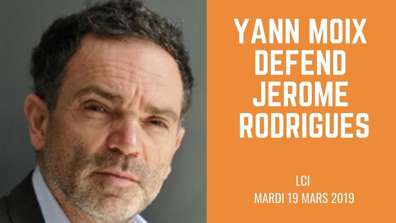 Yann Moix défends Jérôme Rodrigues sur LCI - Acte 18 Gilets Jaunes