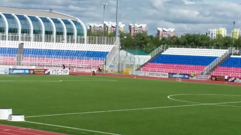 Чемпионат и первенство Р.Мордовия 19-20.05.18г. 4х100 мужчины.