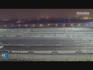 Бессонная ночь на депо ВСЖД в городе Ухань