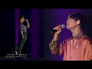 Shinee onew  jonghyun - please dont go
