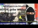 Polizist über BEFEHL gelbe Westen zu knüppeln schämt sich für den Beruf ruft Polizisten auf ...