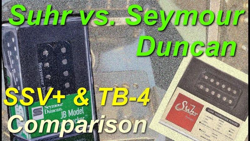 Suhr SSV vs. Seymour Duncan TB 4 (wFender Hardtail Strat)