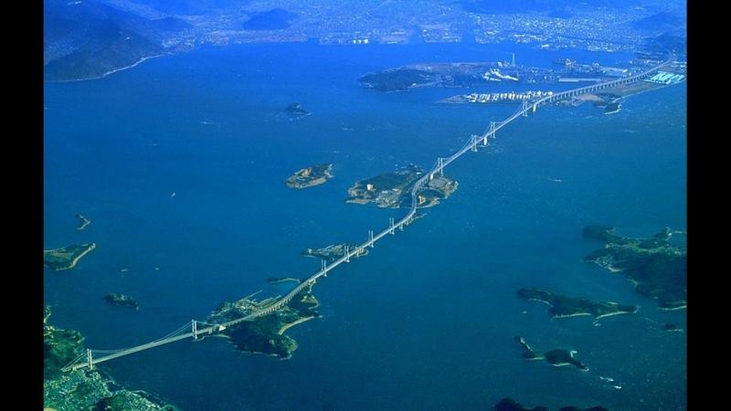 Мостовой переход Сэто Охаси 瀬戸大橋 (10.04.2017г. и 08.04.2018г.)